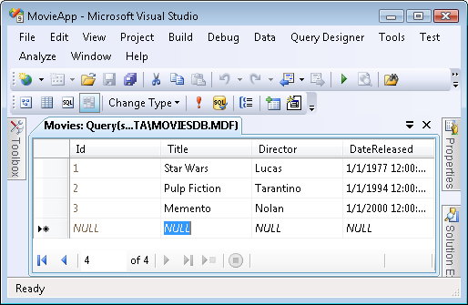 how to create mvc db In the previous chapter, we discussed all of the lofty goals of the aspnet mvc framework in this chapter, we completely ignore them in this chapter, we build a simple database-driven.