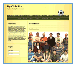 Club Web Site