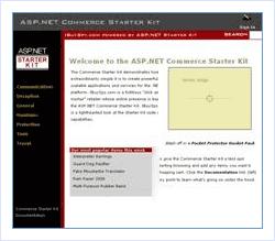Commerce Web Site