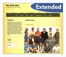 Extended Club Web Site