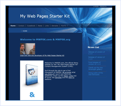 My Web Pages Starter Kit | The ASP.NET Site