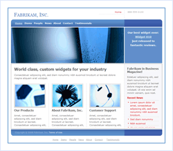 Small Business Web Site