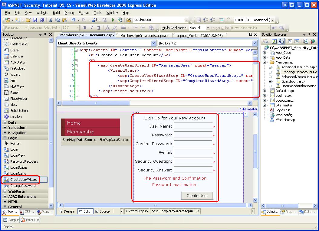 ASP and ASP.NET Tutorials - W3Schools