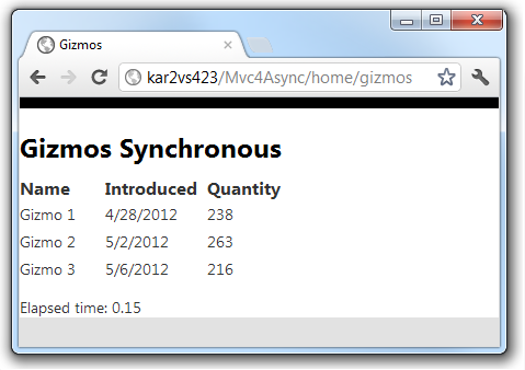 Working with Asynchronous Methods in C#