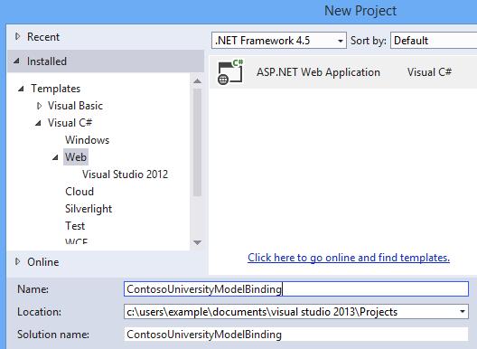 visual studio 2012 web application tutorial pdf