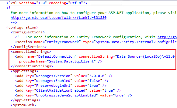 Creating a Connection String and Working with SQL Server ...