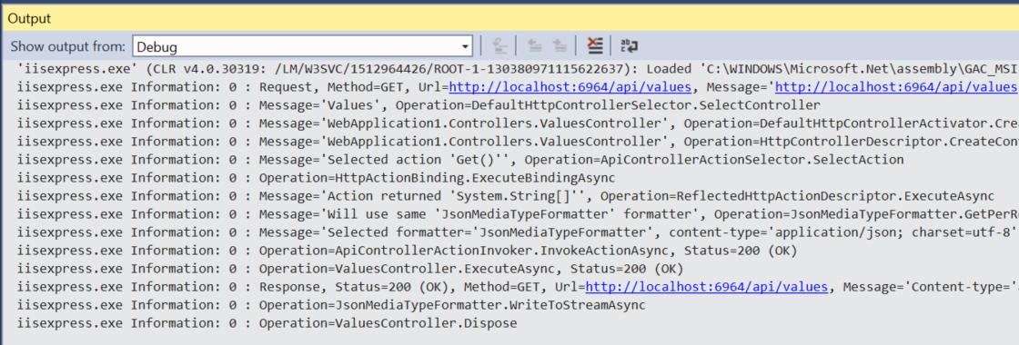how to add web api config